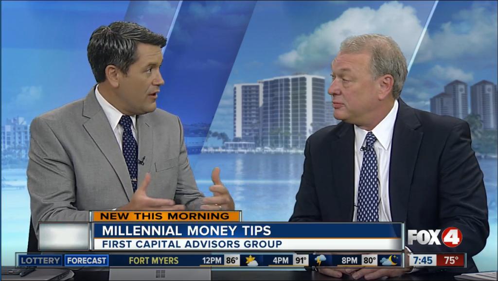 Jeff Schulte on Fox 4 News - Millennial Money Tips - First